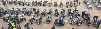 Más de 200 moteros y moteras del Club 'Vulcan Owners' se concentran en Alcázar durante el fin de semana.