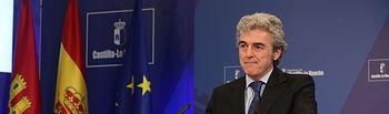 Leandro Esteban informa de los acuerdos adoptados en Consejo de Gobierno 050215-2. Foto: JCCM.