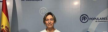 Ana Guarinos, presidenta del PP de Guadalajara y vicepresidenta segunda de las Cortes de Castilla-La Mancha.