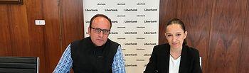 Firma convenio Liberbank - ASAJA Cuenca.