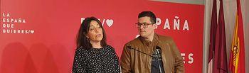 Daniela Roldán y Javier Boj.