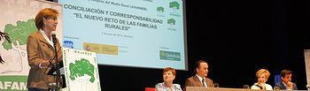 Jornada sobre Conciliación y Corresponsabilidad organizada por AFAMMER.