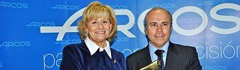 Carmen Bayod y Javier López Galiacho han presentado este jueves la Gala AMITE 2011.