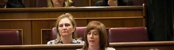 Irene Moreno en el Congreso de los Diputados.