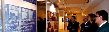 Cospedal Exposicion Memoria VictimasTerrorismo1. Foto: JCCM.