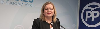 Aurora Galisteo, concejal del Grupo Municipal Popular del Ayuntamiento de Ciudad Real.