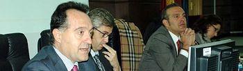 Artemi Rallo, Enrique Belda, Tomás Vidal y María Martín.