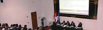 Estudiantes de Ciencias Jurídicas y Sociales participaron en la jornada.