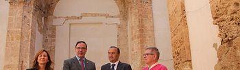 El delegado del Gobierno en Castilla-La Mancha ha visitado la Iglesia del Convento de Monjas Concepcionistas de Moya