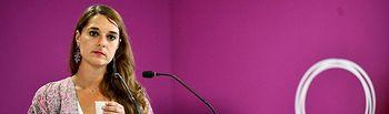 Noelia Vera, portavoz de Podemos.
