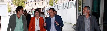 Carlos Cabanas traslada a los ganaderos gallegos las ventajas de la Reforma de la Política Agraria Común. Foto: Ministerio de Agricultura, Alimentación y Medio Ambiente