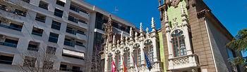 Casa de Hortelano. Sede del Museo de la Cuchillería de Albacete.
