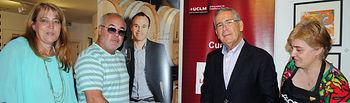 De izqda. a dcha: Llanos Navarro, José Antonio Iniesta, Pedro Carrión e Isabel Berruga