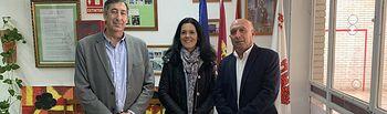 José Caro visita CEIP 'Maestro Navas' de Aldea del Rey.