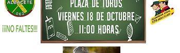 Las unidades especializadas de la Guardia Civil realizarán una exhibición para el alumnado de los centros escolares en la Plaza de Toros