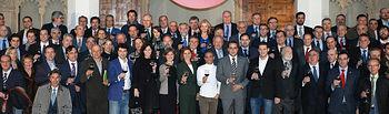 Foto de familia. II Cumbre Internacional del Vino.
