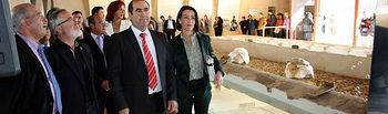 Parras inaugura en Ballesteros el centro de interpretación de la ZEPA del Campo de Calatrava