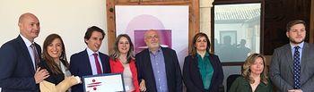 """""""Aguas Albacete"""",  reconocida por el Gobierno de Castilla-La Mancha con un Distintivo de Excelencia en Igualdad, Conciliación, y Responsabilidad Social Empresarial 2018."""