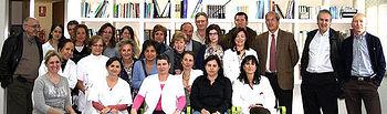 magen del equipo de profesionales del Centro de Salud de Fuensalida.