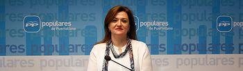 María Antonio Berlanga, portavoz del Grupo Municipal Popular en el Ayuntamiento de Puertollano.