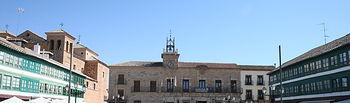 """El espectáculo de luz y sonido """"La Luz de Cervantes"""" llega a Almagro coincidiendo con el Festival de Teatro Clásico. Foto: JCCM."""