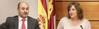 La consejera de Economía, Empresas y Empleo, Patricia Franco, comparece en las Cortes de Castilla-La Mancha para informar de las líneas estratégicas de su departamento esta legislatura. Foto: CARMEN TOLDOS
