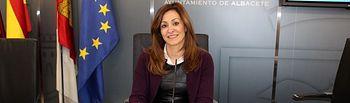 Rosa González de la Aleja, concejal de Medio Ambiente del Ayuntamiento de Albacete.
