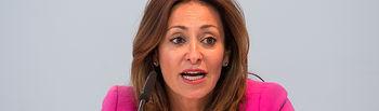 Rosa González, concejala de Promoción Económica del Ayuntamiento de Albacte