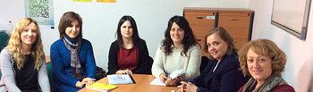 María Teresa Novillo visita el Centro de la Mujer de Alcaraz. Foto: JCCM.