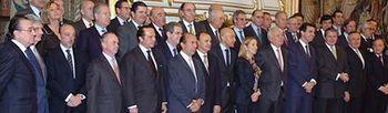 El ministro de Asuntos Exteriores se reúne empresas españolas. Foto: Ministerio de Asuntos Exteriores y Cooperación.