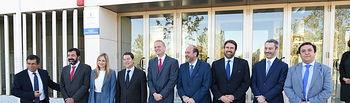 Emiliano García-Page inaugura la jornada sobre el Plan de Inversiones para Europa. Foto: JCCM.