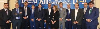Luis Galindo en el XII Foro de CEOE CEPYME Cuenca que ha tenido lugar en el hotel NH Ciudad de Cuenca