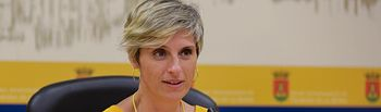 Susana Hernández del Mazo, portavoz del grupo municipal de Cs en el Ayuntamiento de Talavera de la Reina.