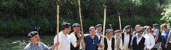 El presidente de Castilla-La Mancha, Emiliano García-Page, asiste a la tradicional Fiesta Ganchera del Alto Tajo. Foto: JCCM.