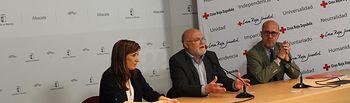 """Mesa de Diálogo """"Mujer, Talento y Empresa"""", desarrollada en la Casa Perona, y organizada por Cruz Roja Española y la Asociación de Empresarias de Albacete y provincia (AMEPAP)"""