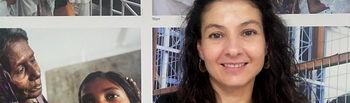Raquel González, delegada de Médicos Sin Fronteras en Castilla-La Mancha
