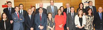 Ana Mato en la foto de familia del Consejo Interterritorial del Sistema Nacional de Salud (Foto Ministerio de Sanidad)