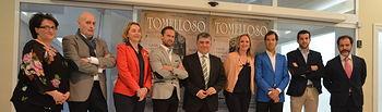 Casero participa en la presentación de la III Corrida Solidaria de Tomelloso. Foto: JCCM.