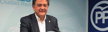 Leopoldo Sierra, portavoz del Partido Popular de Ciudad Real.