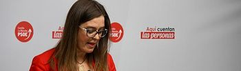 Esther Padilla, diputada nacional del PSOE por la provincia de Toledo.