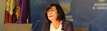 Isabel Nogueroles, concejal de Empleo del Ayuntamiento de Guadalajara.