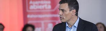 Pedro Sánchez, secretario general.