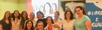 """Inauguración del curso """"Proyecto Gira"""" en el Centro de la Mujer de Albacete."""