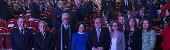 Premios al Mérito Empresarial 2019 celebrados en Los Yébenes (Toledo).