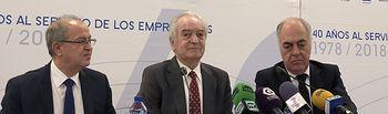 Presentación de  los actos del 40 aniversario de CEOE-CEPYME Guadalajara.