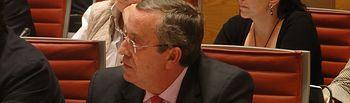 Antonio Galván en el Senado