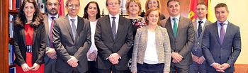 Foto de familia del nuevo equipo de Gobierno de la UCLM.