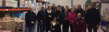 El presidente de Cáritas Española, Manuel Bretón, y la secretaria general, Natalia Peiro, han realizado una visita institucional a Cáritas Diocesana de Toledo