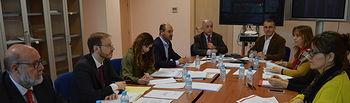 Reunión del pleno del Consejo de Relaciones Laborales en la Consejería de Economía, Empresas y Empleo