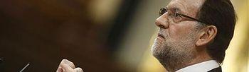 Rajoy durante su intervención. Foto: Pool Moncloa.